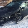 Czołowe zderzenie pojazdów
