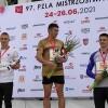 Dominik Kopeć ze złotym medalem