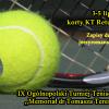 Zapisy na tenisowy turniej Izb Lekarskich
