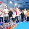 Małych tenisistów odwiedził Święty Mikołaj