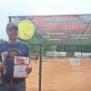Seniorzy i amatorzy zagrali w tenisowym turnieju