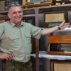 Stare radioodbiorniki leśnika z Tomaszowa