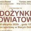 Stary Dzików. Dożynki Powiatu Lubaczowskiego 2020