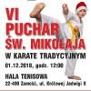 VI Puchar Św. Mikołaja w karate tradycyjnym 1.12.2018