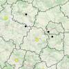 Wakacyjna mapa wypadków drogowych ze skutkiem śmiertelnym