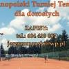 Zapisy na tenisowy turniej