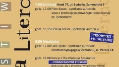 Bożena Fornek o Ulicy Literackiej 2019