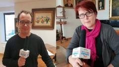 Karol Wiewiórka i Małgorzata Prus