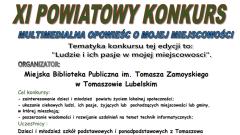 Konkurs Multimedialny w Tomaszowie