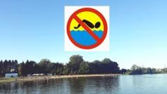 Zakaz kąpieli w Zamościu