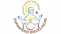 Zapowiedzi diecezjalne 19 września