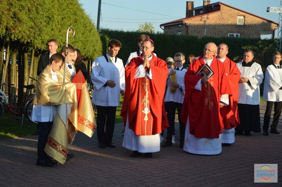 02.10. Dachnów. Parafia pw. Podwyższenia Krzyża Świętego.