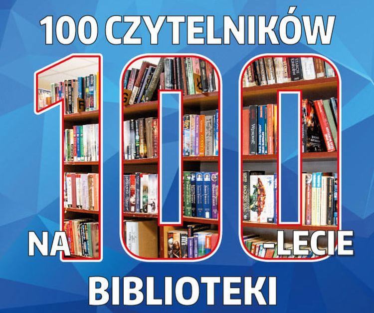 100 czytelników na 100-lecie