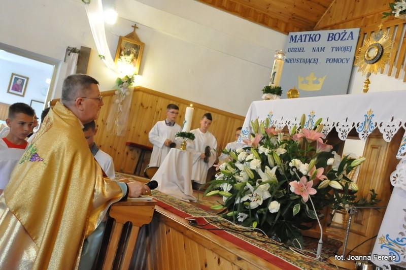 10 lat parafii w Gromadzie