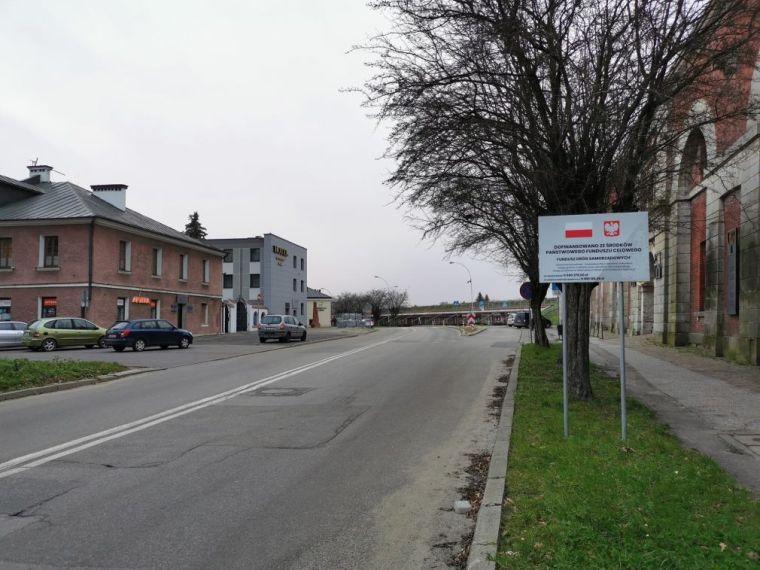 Od 1 grudnia ul. Łukasinskiego będzie zakmnięta