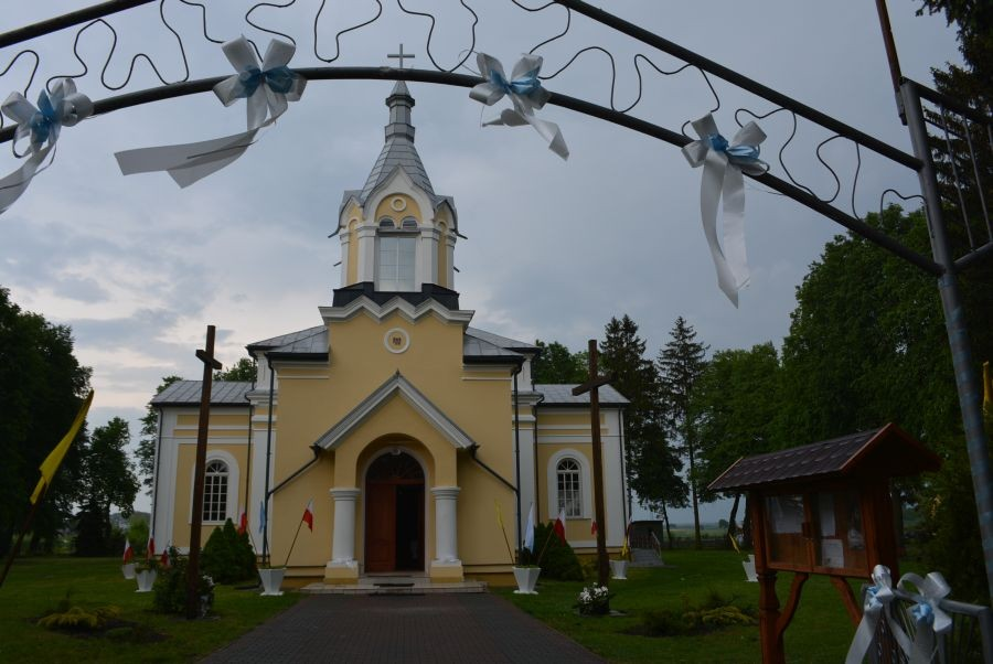 21.05 Czerniczyn. Parafia św. Jana Chrzciciela