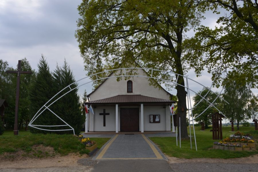 22.05 Cichobórz. Parafia pw. św. Maksymiliana Kolbego