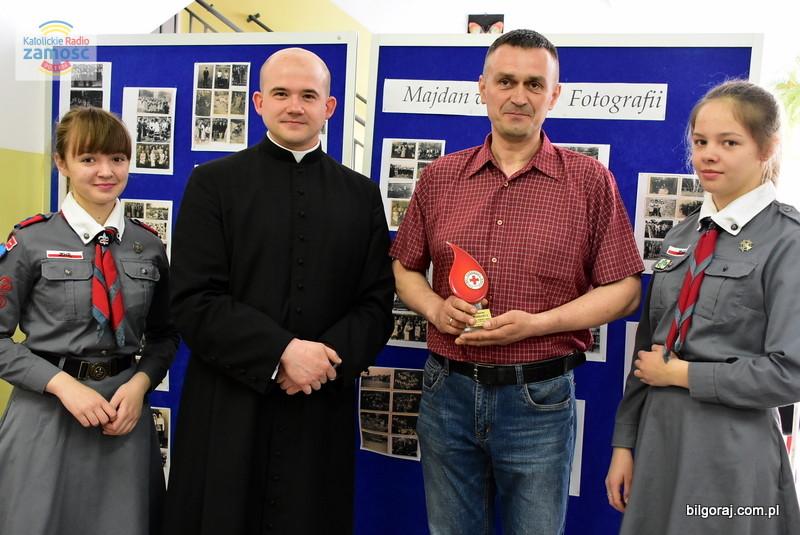500 donacja w Majdanie Starym