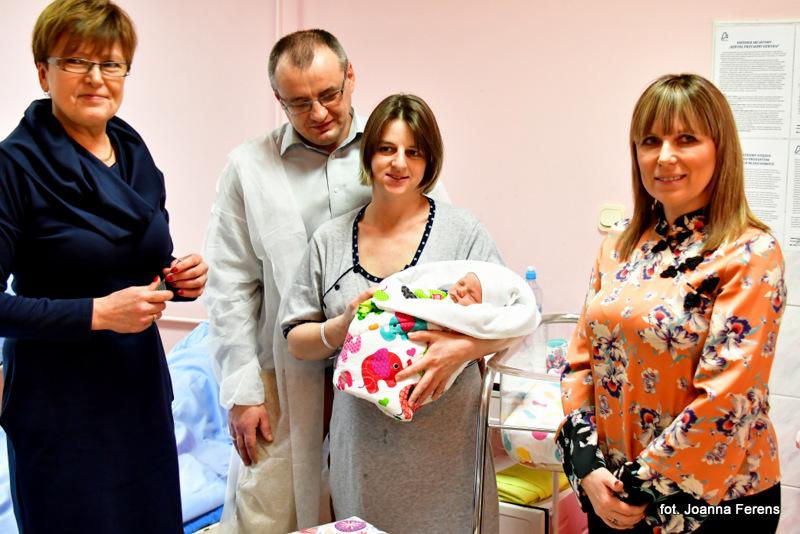 500 noworodek w biłgorajskim szpitalu