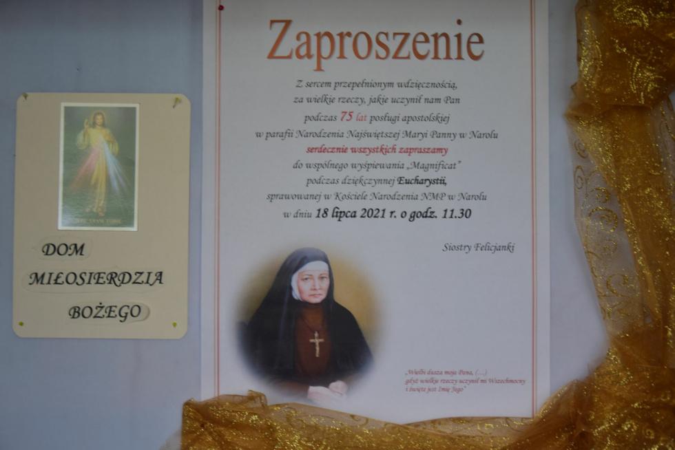 75 lat Felicjanek w Narolu