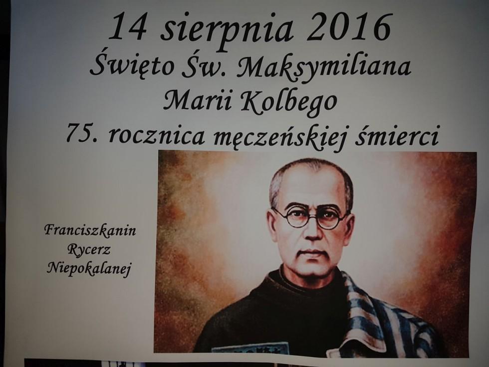 75. rocznica śmierci św. Maksymiliana M. Kolbego