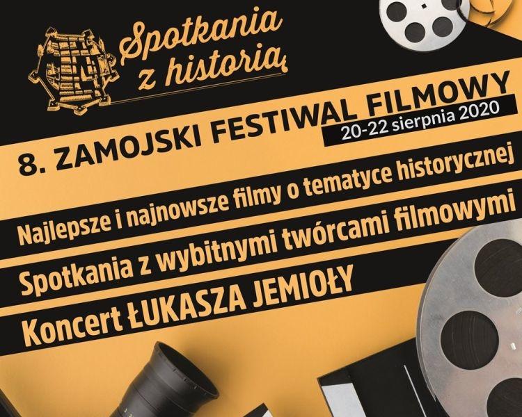 """8. Zamojski Festiwal Filmowy """"Spotkania z historią"""""""