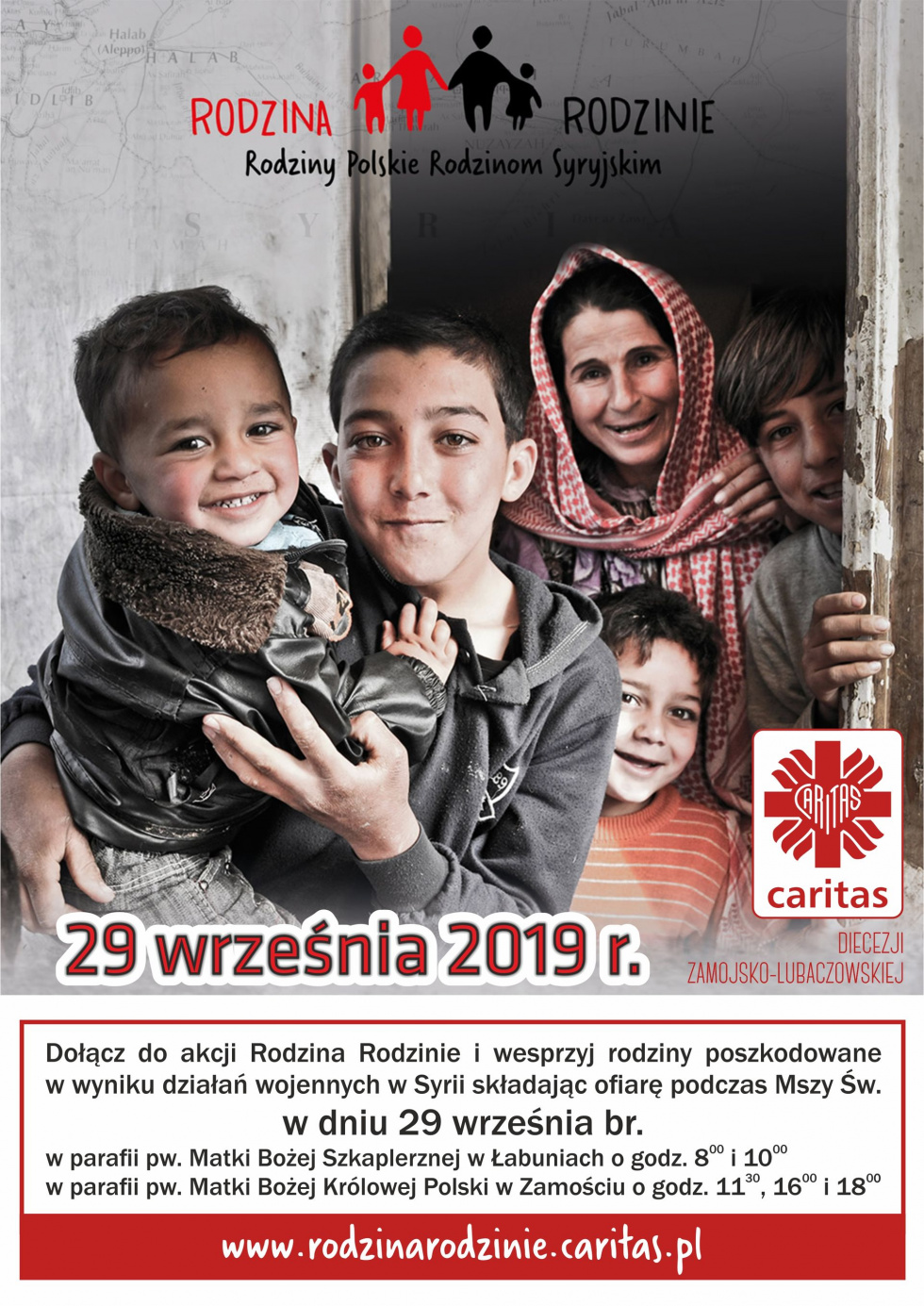 """Akcja Caritas """"Rodzina Rodzinie"""""""