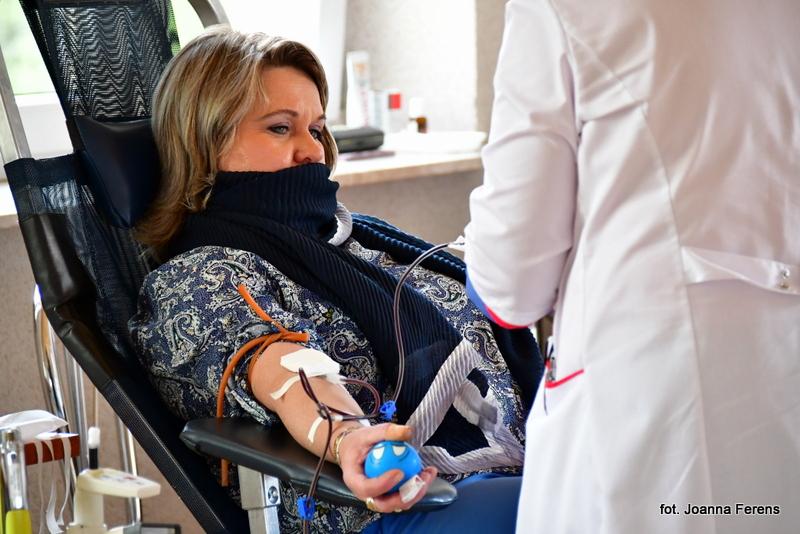 Akcja poboru krwi w Aleksandrowie