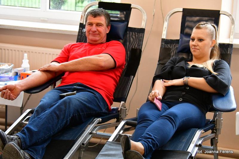 Akcja poboru krwi w Łukowej