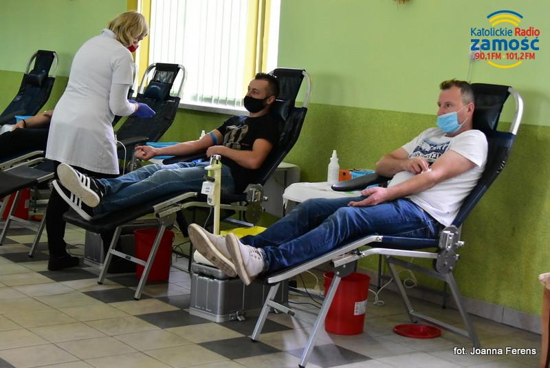 Akcja poboru krwi w Potoku Górnym