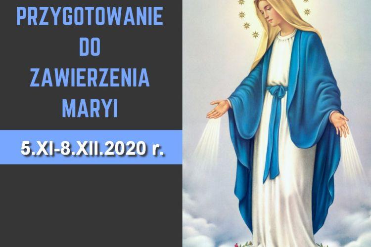 Akt oddania się Jezusowi przez ręce Maryi