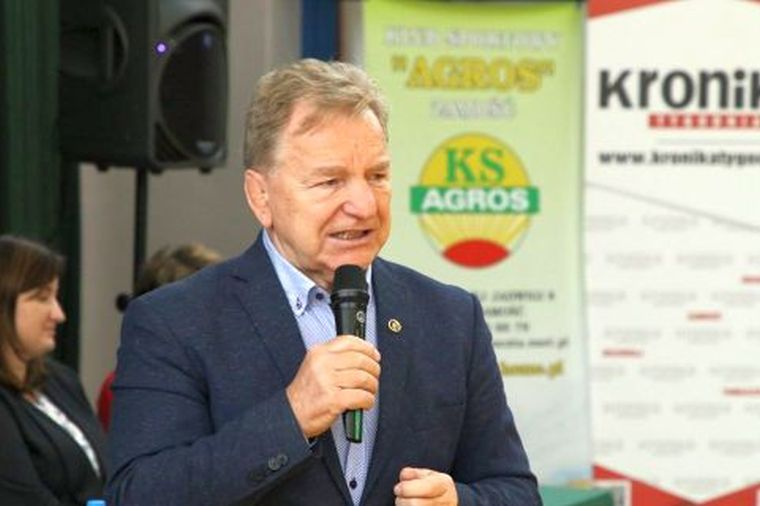 Andrzej Supron odwiedził zapaśników