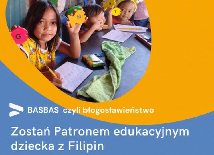 BASBAS - projekt edukacyjnej adopcji dziecka na Filipinach