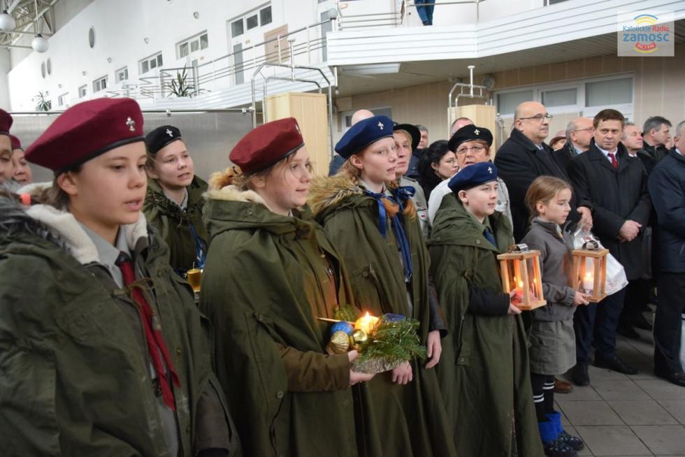 Betlejemskie Światełko Pokoju zostało przekazane na Ukrainę