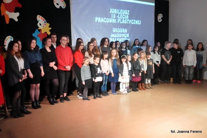 Biłgoraj. 10-lecie pracowni plastycznej MDK