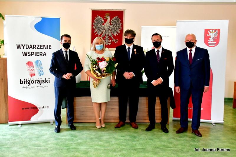 Biłgoraj. Janusz Jarosławski wyróżniony