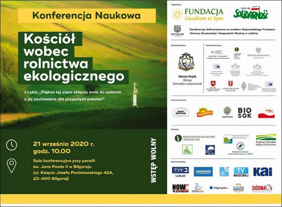 Biłgoraj. Konferencja ekologiczna