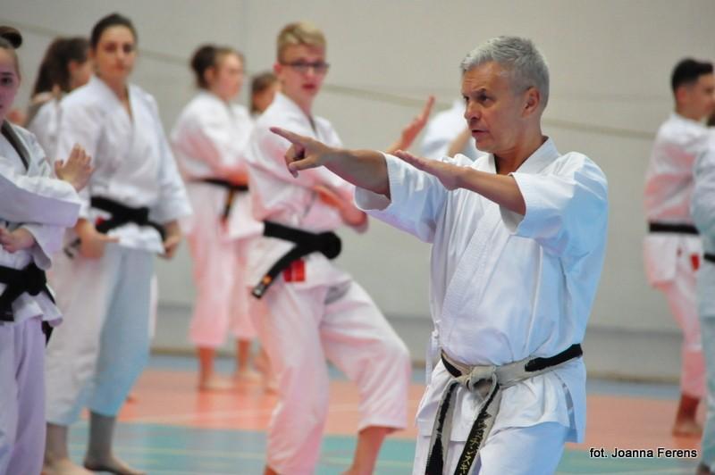 Biłgoraj. Kurs karate z senseiem Kwiecińskim