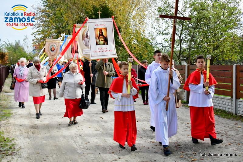 Biłgoraj. Odpust u św. Jana Pawła II
