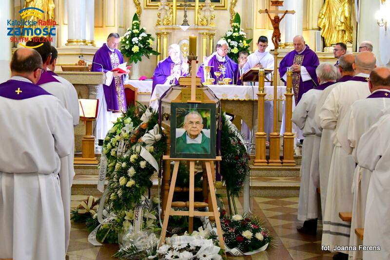 Biłgoraj. Pogrzeb ks. Bogusława Wojtasiuka
