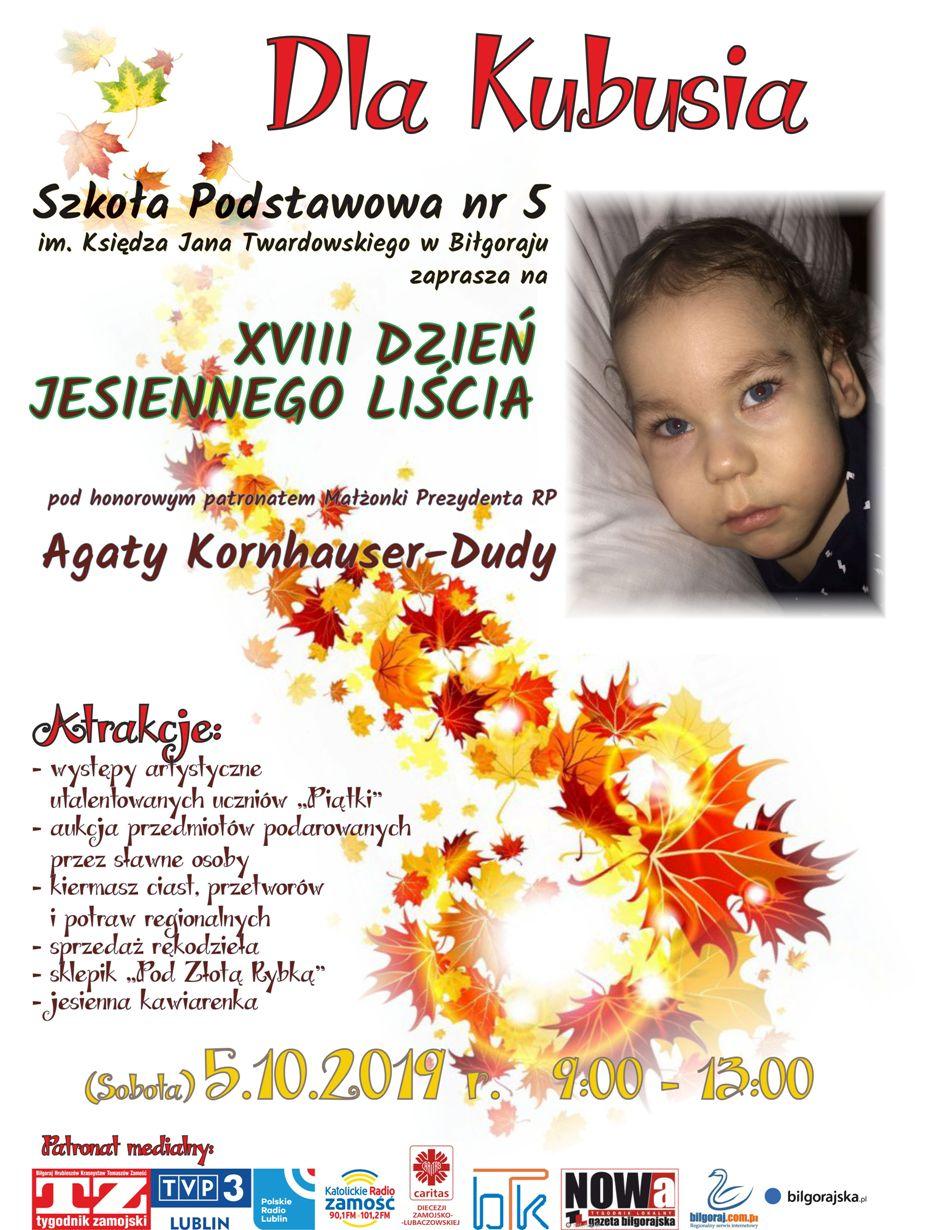 Biłgoraj. XVIII Dzień Jesiennego Liścia