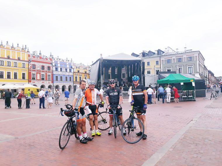 Członkowie kolarskiej grupy KGB zawitali na Roztoczu