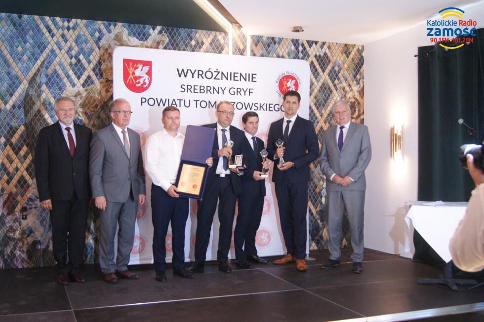 Diamentowe Gryfy dla tomaszowskich przedsiębiorstw
