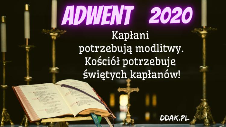 Dzieło Duchowej Adopcji Kapłanów na Adwent