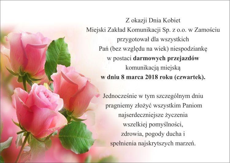 Dzień Kobiet z MZK
