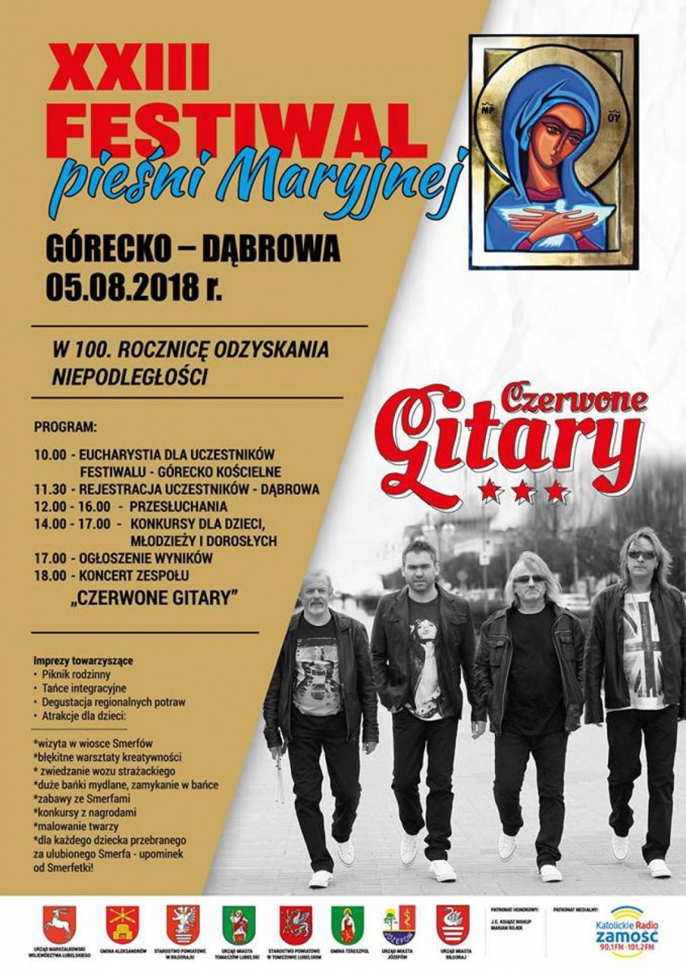 Festiwal Pieśni Maryjnej w Górecku Kościelnym