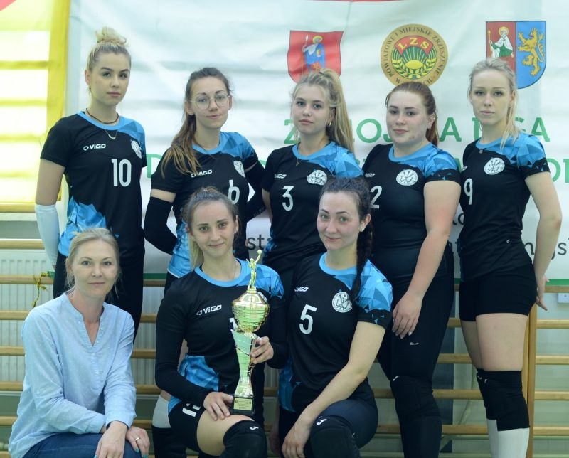 Finalistki  Ligi Kobiet LZS w piłce siatkowj