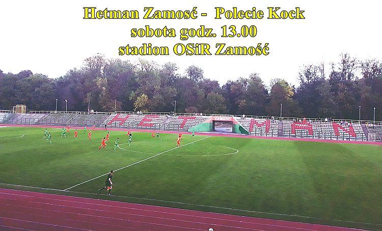 Hetman Zamość wygrał mecz z Huczwą Tyszowce