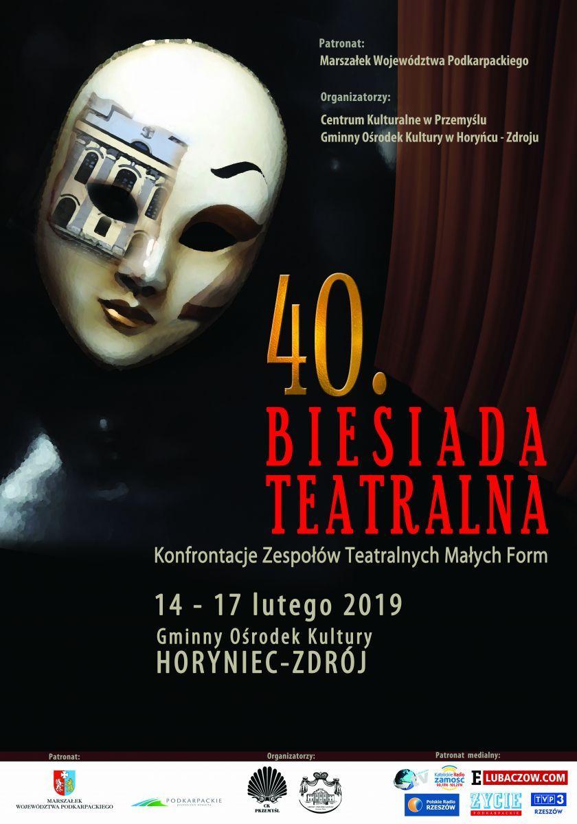 Horyniec - Zdrój. 40. Biesiada Teatralna - Konfrontacje Zespołów Teatralnych Małych Form