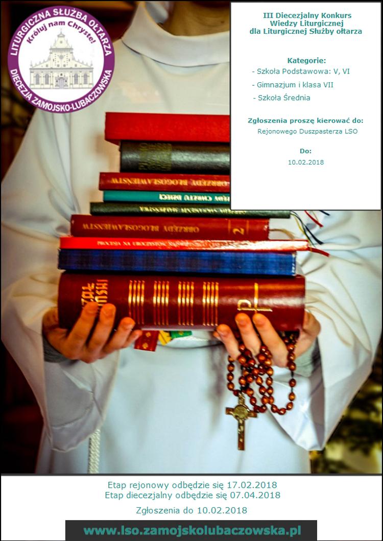 III Diecezjalny Konkurs Wiedzy Liturgicznej